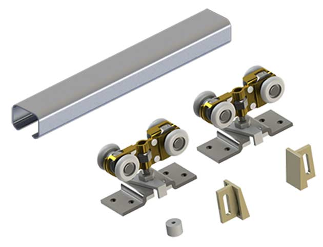Sliding door hardware by hager johnson stanley